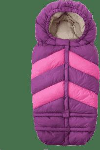 7 A.M. ENFANT Śpiworek do wózka 3w1 Blanket 212 Chevron, Grape / Pink