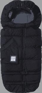 7 A.M. ENFANT Fusak do kočárku 3v1 Blanket 212 Evolution, Black