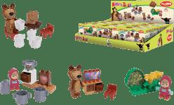 BIG Bloxx Máša a medveď - Starter set