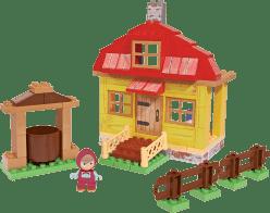 BIG Bloxx Máša a medvěd – Mášin dům