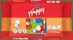BELLA HAPPY BABY Vlhčené ubrousky s vitamínem E 64 ks