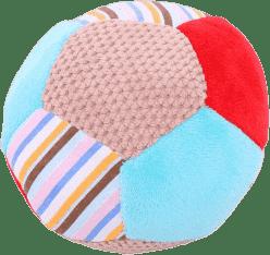 BIGJIGS Textilné hračka - Hrkálka balónik Bruno