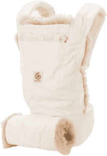 ERGOBABY Designer Nosítko - Winter Edition - White*