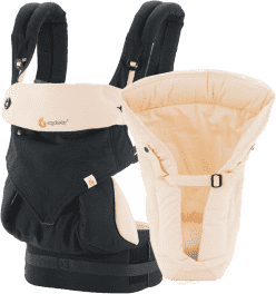 ERGOBABY Zestaw Bundle of Joy 360 Black/Camel