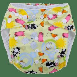 BOBOLIDER Plenkové kalhotky ECO Polandia B59 – vložka z mikrovlákna