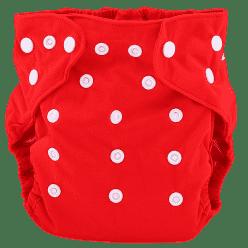 BOBOLIDER Plienkové nohavičky ECO Bobolider B7 - červené