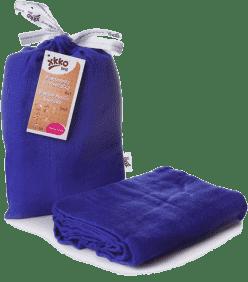 KIKKO Bambusová zavinovačka Colours 120x120 (1ks) – ocean blue