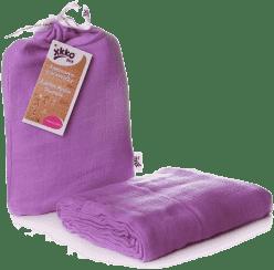 KIKKO Bambusová zavinovačka Colours 120x120 (1ks) – lilac