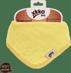 KIKKO Bambusový slintáčik/šatka Colours (1ks) – lemon
