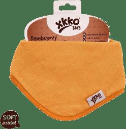 KIKKO Bambusový slintáčik/šatka Colours (1ks) – orange
