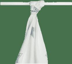 KIKKO Bambusová osuška/plienka Stars 90x100 (1ks) – silver