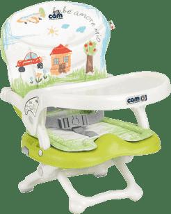CAM Detská stolička Smarty s polstrovaním Pop, 222