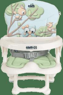 CAM Detská stolička Smarty s polstrovaním Pop, 225