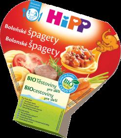 HIPP BIO detský príkrm Boloňské špagety 250g