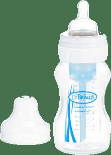 DR.BROWN'S Dojčenská fľaša Wide-Neck 240ml