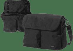 BUMBLERIDE Diaper taška – Jet black