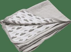 LODGER Bavlněná deka Dreamer Quilt 100x150cm – Shell