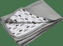 LODGER Bavlnená deka Dreamer Quilt 100x150cm - Grey