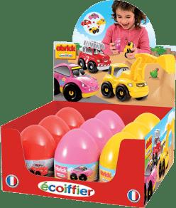 ECOIFFIER Velikonoční vejce s autíčkem