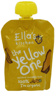 5x ELLA´S Kitchen Owocowe puree - Banan (The Red One) 90g
