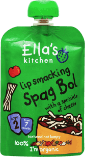 ELLA'S Kitchen Špagety Bolognese 130g