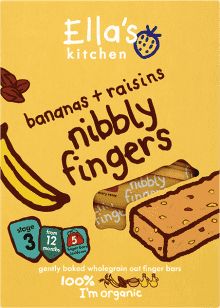 5x ELLA´S Kitchen Tyčinka Banán arozinky 25g