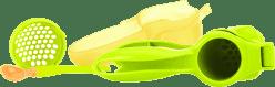 NUBY Ręczna praska do owoców i warzyw z serii Garden Fresh