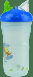NUBY Termoizolačné kelímok 270ml No-Spill ™, 6m +, modrá