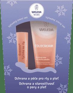 WELEDA Zimná balíček (ochrana pier + ochranný krém)