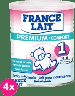 4x FRANCE LAIT Premium Comfort 1 (400g) - kojenecké mléko