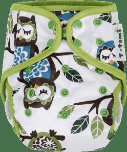 T-TOMI Svrchní kalhotky, bílé sovy