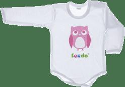 FEEDO body sowa (różowe) (FEEDO klub)
