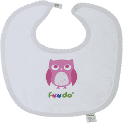 FEEDO śliniaczek sowa dziewczynka (FEEDO klub)