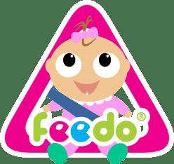 FEEDO Ostrzegawcza naklejka na auto – dziewczynka
