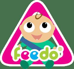 FEEDO Ostrzegawcza naklejka na auto – chłopiec