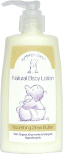 FAITH IN NATURE Přírodní dětské tělové mléko s bio bambuckým máslem 150ml