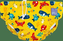 BAMBINO MIO Nohavičkové plienky kúpacie Deep Sea Yellow vel.M (7-9kg)