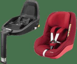 MAXI-COSI 2Way Pearl fotelik samochodowy 2016 Robin Red + Podkładka do fotelika 2WayFix