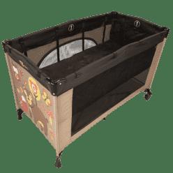 G-MINI Łóżko wkładane do łóżeczka Nyja ciemno brązowe