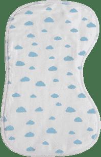 GLOOP Dečka k odhříhnutí bábätka Blue CLOUDS