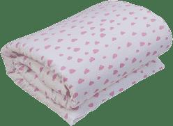 GLOOP Dziecięca kołderka do łóżeczka z wypełnieniem 100x150 Pink Clouds