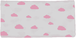 GLOOP Mušelínová plena 70x70 Pink Clouds