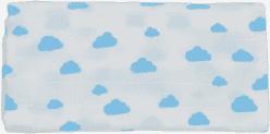GLOOP mušelínové plienka 70x70 Blue Clouds