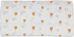 GLOOP Pieluszka muślinowa 70x70 Little Hearts