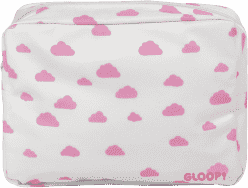 GLOOP Toaletná taštička Pink Clouds