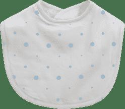 GLOOP Śliniak z organicznej bawełny Blue Dots (2 szt.)