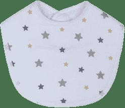 GLOOP Śliniak z organicznej bawełny Stars (2 szt.)