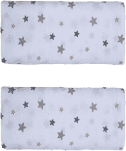 GLOOP Pieluszka muślinowa 50x50 Stars (2 szt.)