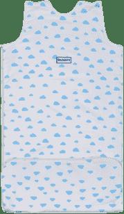 GLOOP Spací vak z organickej bavlny 6 - 36 mesiacov Blue Clouds