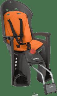 HAMAX Cyklosedačka Siesta Grey / Orange
